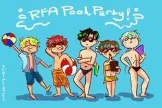 Resultado de imagen de rfa real party