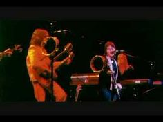 """Paul Mccartney & Wings """"Jet"""" 1976.  'Jet' (live) The second single from the fertile Band on the Run sessions was a joyous blast of power pop.    Read more: http://www.rollingstone.com/music/pictures/paul-mccartney-best-of-the-solo-years-20120206/jet-live-0556395#ixzz2i96LK3eQ"""