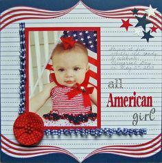 All American Girl - Scrapbook.com