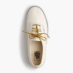 Vans for J. Crew White 9.5 UNISEX VANS® FOR J.CREW CANVAS AUTHENTIC SNEAKERS. Women's size 9.5 (men's 8). Worn a few times. Some very light scuffs but in excellent condition. Vans Shoes Sneakers