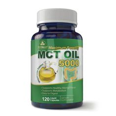 (Paleo Diet) - Maximum Potency Pure MCT Oil Capsules - 3000 mg - Cold Pressed, Paleo, Non-GMO - 120 Softgels - Supports Natural Sustained Energy, Mental Focus, & Weight Loss Management * Check out this great product. (This is an affiliate link) Ketogenic Supplements, Amino Acid Supplements, Best Fat Burning Pills, Fat Burning Drinks, Ketogenic Diet Plan, Paleo Diet, Keto Strips, Metabolism Support, Vitamins For Energy