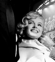 """""""Marilyn Monroe at the premiere of The Prince and the Showgirl, 1957. """""""