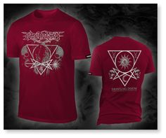 PURGATORY - bringing doom, burgundy T-Shirt