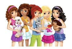 wow lego friends with lovely animal i love olivia and mia
