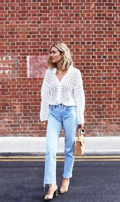 Vintage Levi jeans and summer outfit