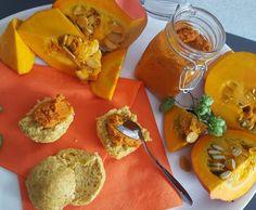 Rezept Kürbisbutter / vegetarische Kürbis-Bolognese von Sarah Tautz - Rezept der Kategorie Saucen/Dips/Brotaufstriche