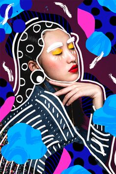 Andreea Robescu Beautiful Mixed Media Collages Trendland Online Magazine Curating the Web since 2006 Collage Foto, Mode Collage, Collage Portrait, Pop Art Collage, Photo Collage Design, Poster Collage, Pop Up Art, Collage Art Mixed Media, Painting Collage