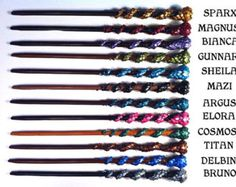 Handmade Dragon Wands, Magic Fantasy Wands, Witchcraft and Wizardry Wands Dragon Tail, Dragon Claw, Cosmos, Witch Wand, Types Of Mold, Chocolate Frog, Harry Potter Wand, Creations, Great Gifts