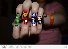 AVENGERS nails!