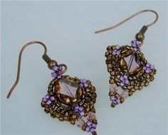 EARRINGS OF BEADS