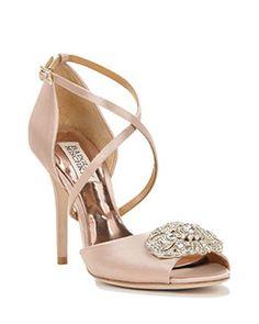 Sari Strappy Satin Evening Shoe