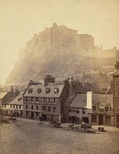 Edinburgh Castle. Photographer: Wilson, George Washington. Medium: Photographic print. Date: 1868. | The British Library