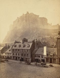 Edinburgh Castle. Photographer: Wilson, George Washington. Medium: Photographic print. Date: 1868. | The British Library