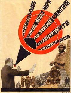 Oppressed Peoples of the Whole World Gustav Klutsis 1924