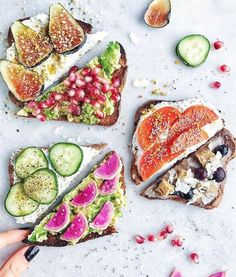 Food | Beautiful lunch | Vegetables | More on Fashionchick.nl