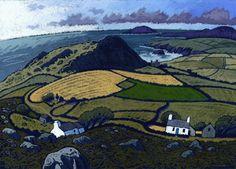 Chris Neale Studio - signed limited edition art prints and original artwork Landscape Art, Landscape Paintings, Landscapes, Devon, Bristol, Naive Art, Print Artist, Original Artwork, Cool Art