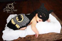 Crcohet+Newborn+Batman+Cape+photo+prop+by+PinkPoppiesStudio,+$38.00