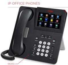 Nortel i2002 IP Phone in Black NTDU91 1 Year Warranty