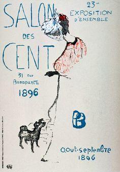 Pierre Bonnard, exhibition poster, 1896