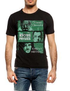 Black & Green Unisex T-shirt John Snow Heisenberg von KreativEarth