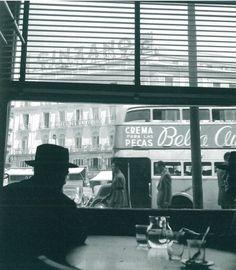 Puerta del Sol, Madrid, 1955.