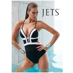 What you need in your life now: #JETSswimwear Classique proving the power of one is a hot contender.