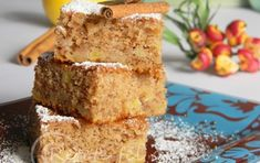 Creme Caramel, Cornbread, Banana Bread, Deserts, Sweets, Apple, Ethnic Recipes, Banana, Millet Bread