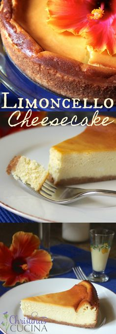 Easy, refreshing dessert with Limoncello--the best of both worlds! - Easy, refreshing dessert with Limoncello–the best of both worlds! Perfect for summer. Lemon Desserts, Lemon Recipes, Fudge Recipes, Cheesecake Recipes, Sweet Recipes, Italian Cheesecake, Summer Cheesecake, Ricotta Cheesecake, Easy Recipes