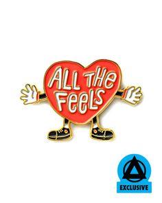 All The Feels Pin – Strange Ways