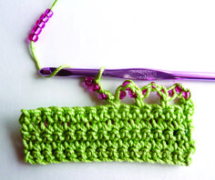 How to Make a Beaded Edge | crochet today