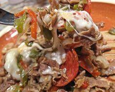 Philly Cheesesteak Casserole- Low Carb Recipe - Food.com: Food.com