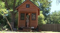 Tammy Strobel & Logan... My favorite Tiny House People!! Debt/car-free tiny house couple: simple living + resilience