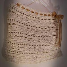Tus Manos y las Mias: FALDA PLAYERA CROCHET crochet knitted skirt