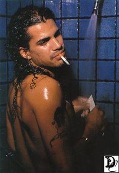 Slash from Guns N Roses.