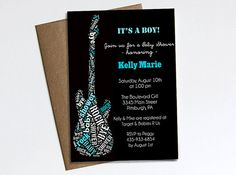 Rock a Bye Baby Shower invitation   Printable by ChelsiLeeDesigns, $14.00