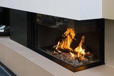 M-Design hoekhaard liftdeurhaard Luna Diamond - Product in beeld - - Startpagina voor sfeerverwarmnings ideeën | UW-haard.nl