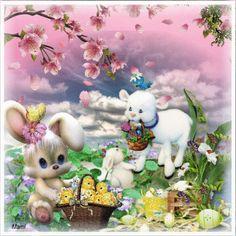 Teddy Bear, Easter, Toys, Animals, Spring, Activity Toys, Animales, Animaux, Easter Activities