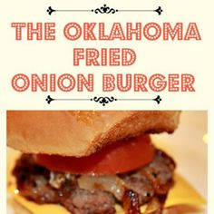Delicious burgers made with fried onions for added flavor resulting in the perfect recipe for making hamburgers indoors. Oklahoma Fried Onion Burgers are exactly what. Jam Recipes, Beef Recipes, Cooking Recipes, Barbecue Recipes, Lunch Recipes, Bbq, How To Make Hamburgers, Ariel, Barbecue