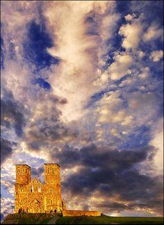 Reculver Castle, Kent, UK