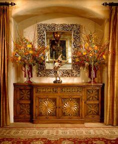 Beauatiful Hand Carved Buffet