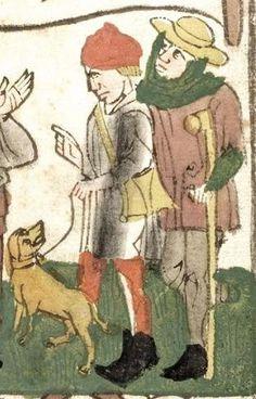 Biblia pauperum ; Apokalypse ; Bilder-Ars-moriendi (Blockbücher) — Mittelrhein/Südwestdeutschland,  Ende 15. Jh Cod. Pal. germ. 34 Folio 80r