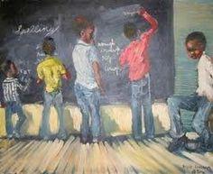 """Blackboard Experience"". Unknow artist #pissarra"