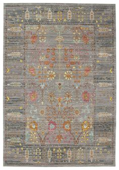 Celeste - grau Teppich 200x300 Moderner Teppich: Amazon.de: Küche & Haushalt