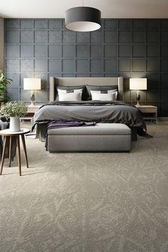 Broadloom - Custom Carpet - Drifting World - Apollo Home Decor Bedroom, Bedroom Wall, Master Bedroom, Bedroom Ideas, Bedroom Interiors, Bedroom Light Fixtures, Bedroom Lighting, Trendy Bedroom, Modern Bedroom
