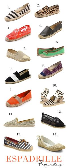 Elements of Style Blog | Fashion Friday: Espadrille Roundup | http://www.elementsofstyleblog.com