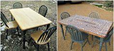 Personalizar mesas de todo tipo y material con ideas y técnicas fáciles de llevar a cabo. Echa un vistazo a estos tutoriales para renovar tus mesas.