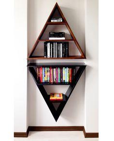 Teaching Literacy Triangle BookshelfTriangle