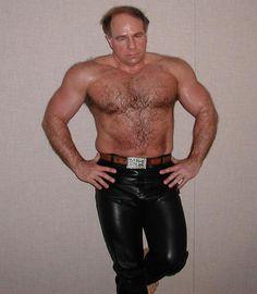 gay musclebear leather pants GLOBALFIGHT PROFILES