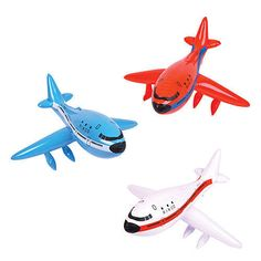 This Inflatable Airplane in bright assorted colors (red, white and blue) are sure to boost the spirits of any young airplane fan! Planes Birthday, Planes Party, Race Car Party, Airplane Decor, Airplane Party, 747 Airplane, 2nd Birthday Parties, Birthday Party Decorations, Birthday Ideas
