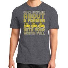 A BOUT A Farmer District T-Shirt (on man)